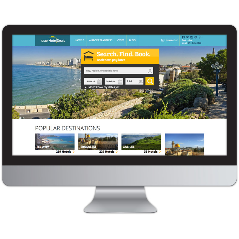 israel hotel deals home