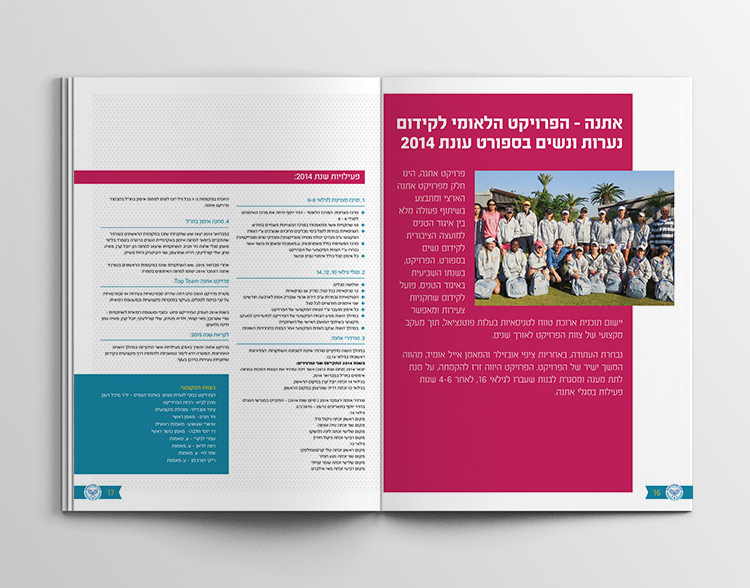 israeli tennis association - booklet 2015 inside2