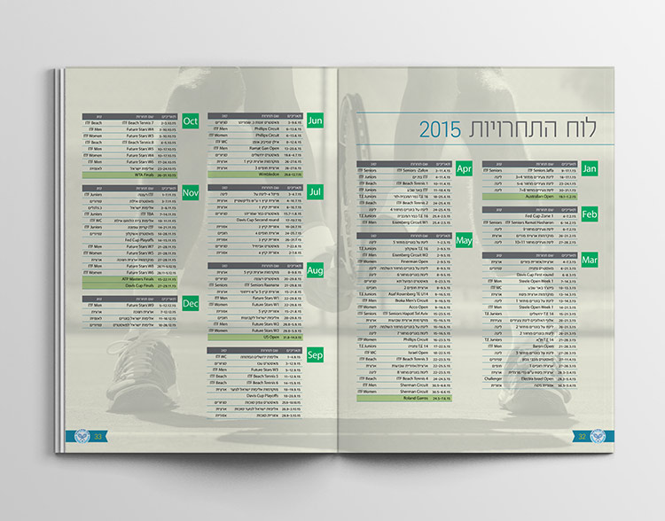 israeli tennis association - booklet 2015 inside1