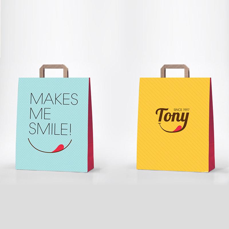 Tony ice - bags