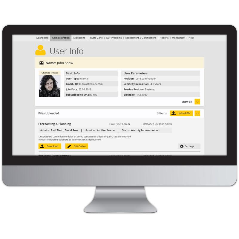exploregate user page